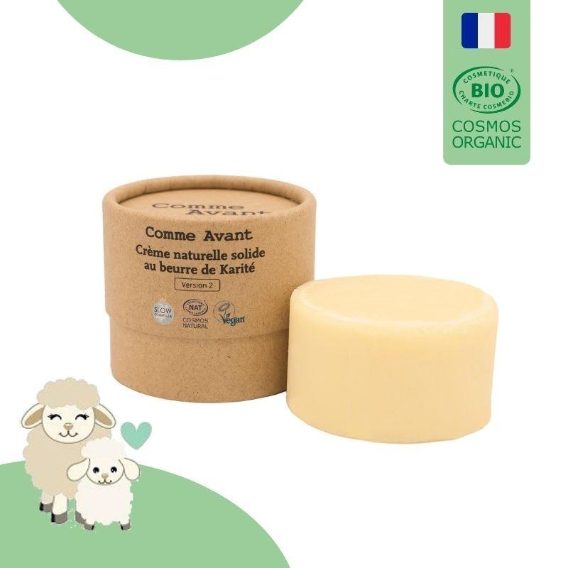 crème solide au beurre de karité