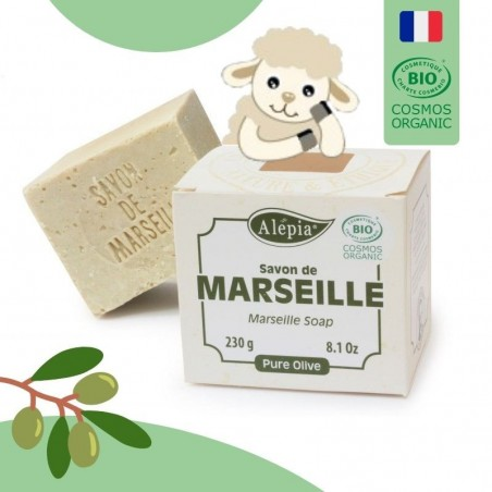 Savon de Marseille BIO certifié COSMOS
